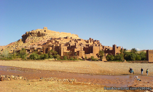 Morocco Desert Trekking In The Region Sidi Ali