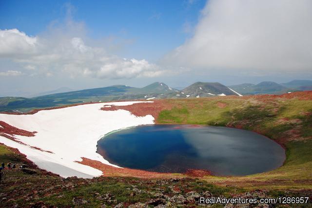 Armenian Geographic-Climbing Volcano Azhdahak