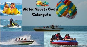 Water Sports In Goa at Calangute Beach Goa, India Campgrounds & RV Parks