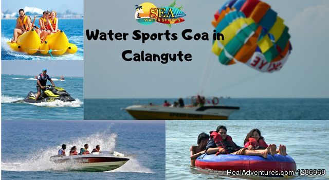 Water Sports In Goa at Calangute Beach