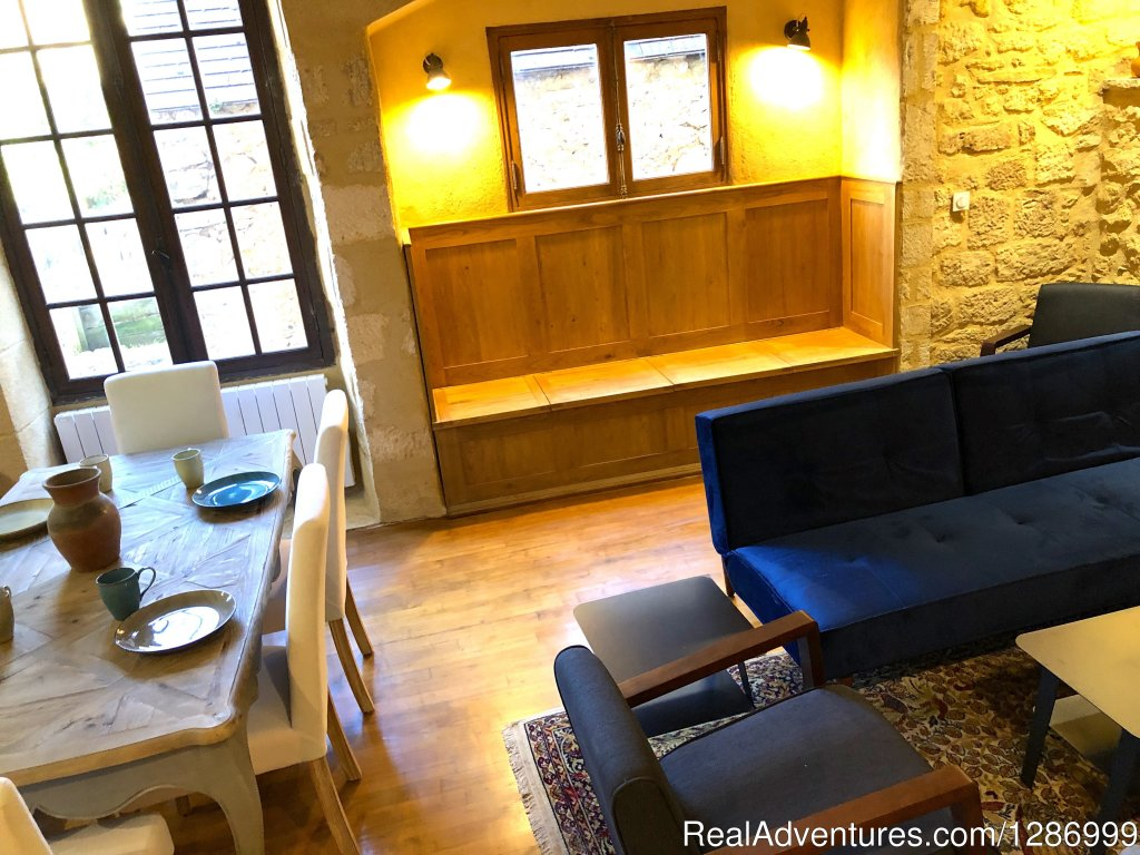 Living/Dining Area | Image #3/7 | Romance & Charm in the Domme Citadel