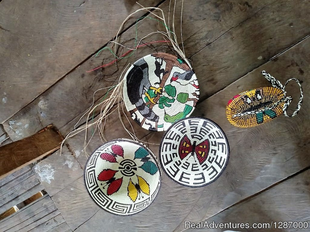 Local tribe artcrafts | Image #4/11 | Darien Gap Jungle Expedition - Panama