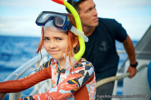 Child Snorkeling At Molokini - Molokini Snorkeling Tours With Pride Of Maui