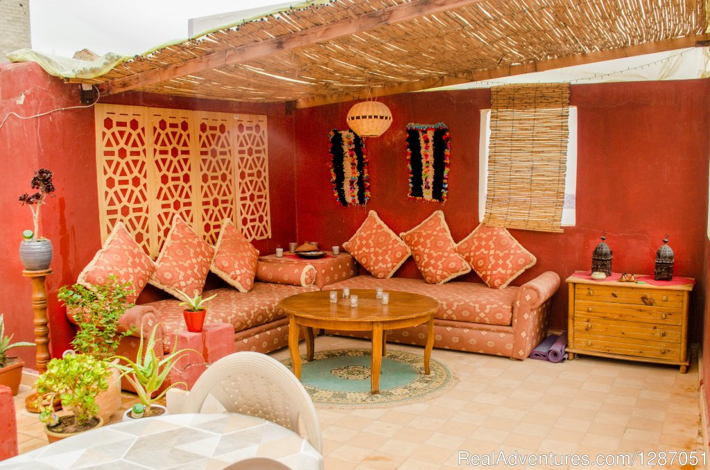 Garden House Terrace | Image #4/9 | Local Surf Maroc - Surf, Yoga, Fitness Holidays