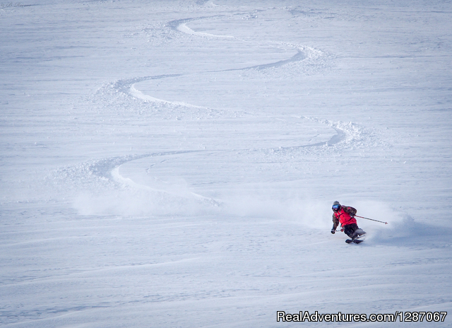 Ski instruction and ski touring in Niseko