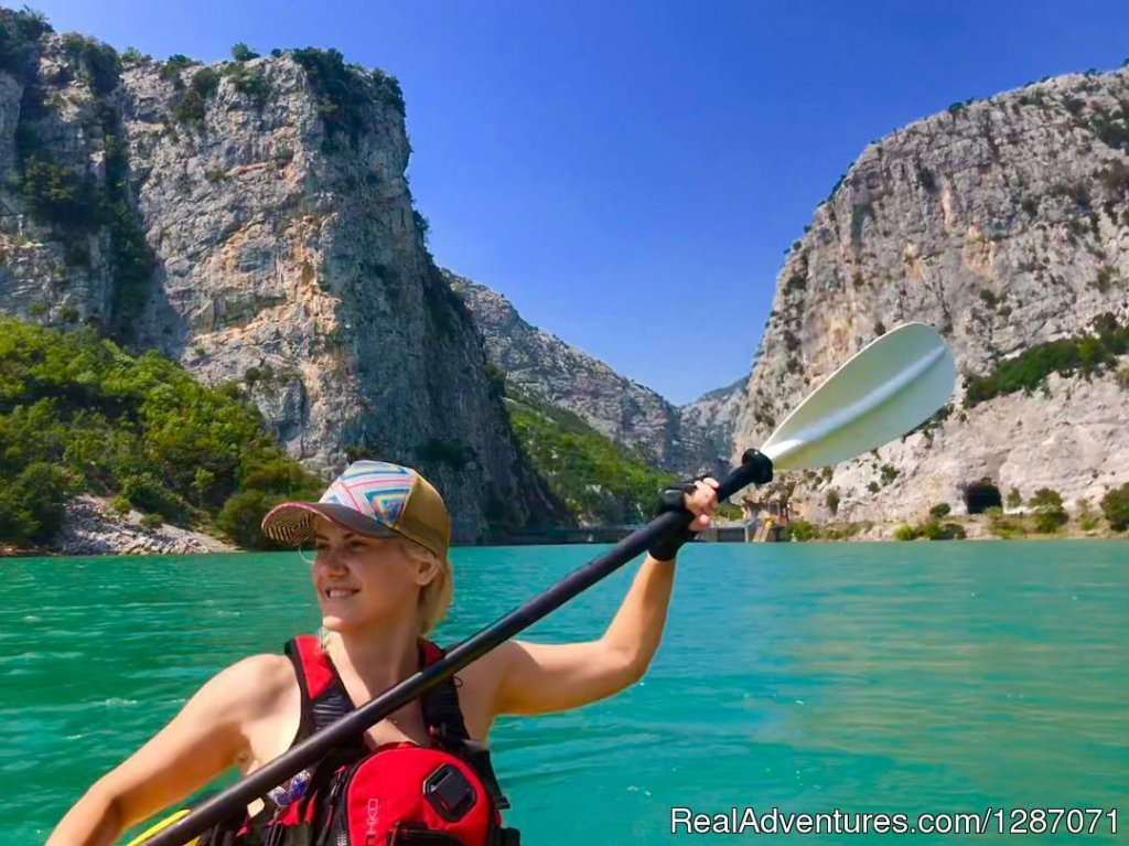 Kayaking in Ulza Ecopark | Image #3/4 | Kayak, Snorkel and Hike Canyons in Albania