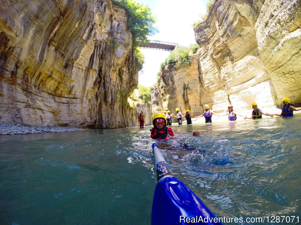 River hiking in the spectacular Osumi Canyons | Image #4/4 | Kayak, Snorkel and Hike Canyons in Albania