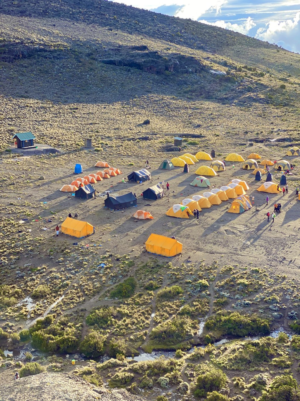 View From Above Barranco Camp | Image #2/20 | Amazing Mt. Kilimanjaro Climbs & Serengeti Safaris